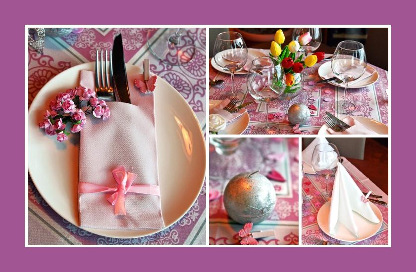 Deko Idee Fur Einen Geburtstagstisch Mit Blumendeko In Rosa