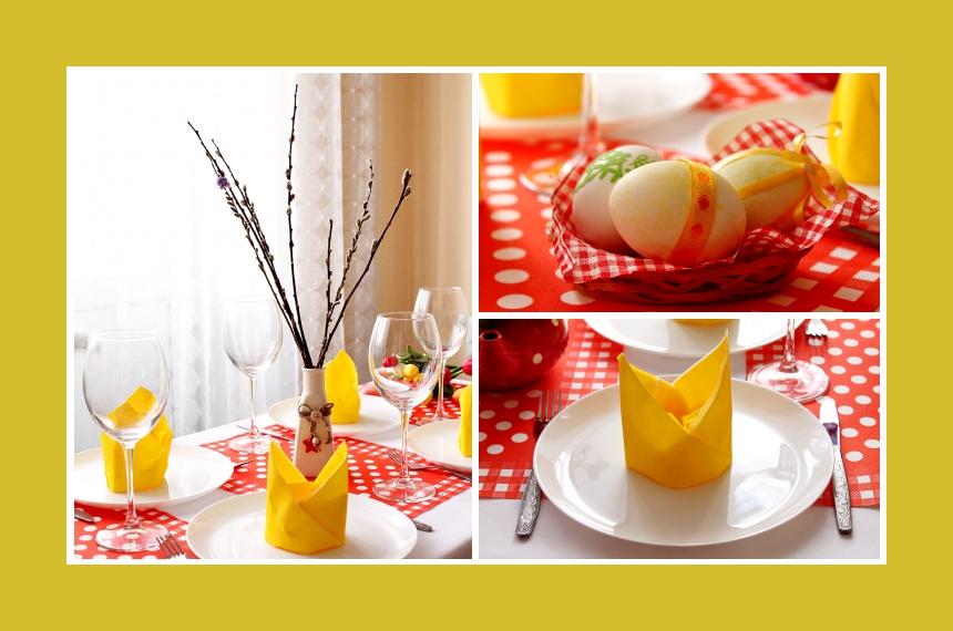 Deko Idee Ostern Weidenkätzchen Ostereier