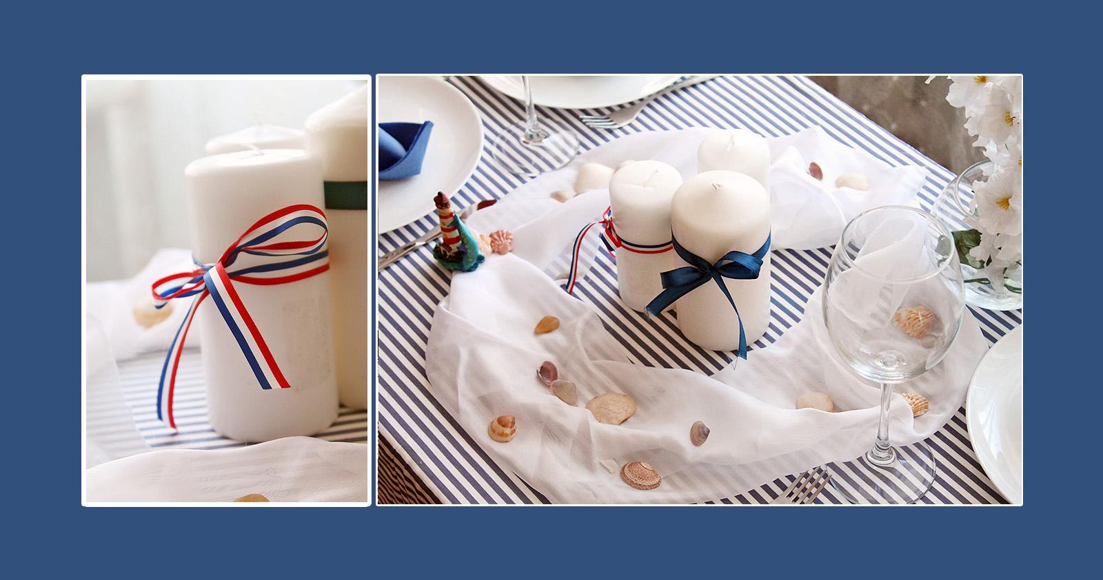Tischdeko Konfirmation Kerzen