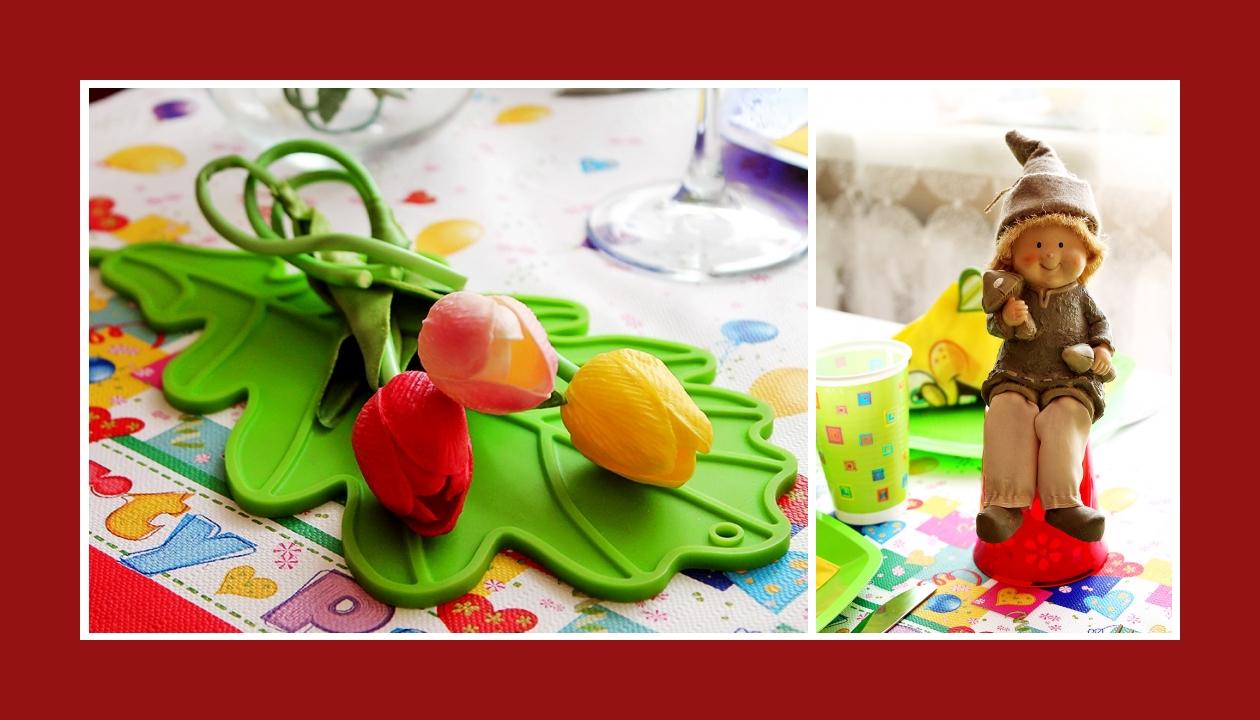 Deko Idee Kindergeburtstag Gelb Tulpen