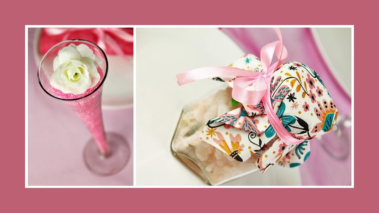 Zarte Deko Idee 1. Geburtstag Pink Mädchen