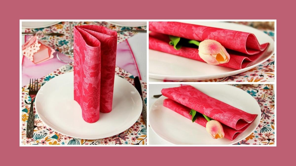 Zarte Deko Idee 1. Geburtstag Pink