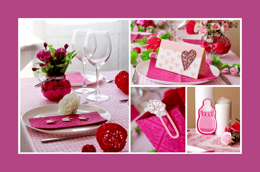 Deko Idee Fur Eine Stilvolle Baby Shower In Rosa