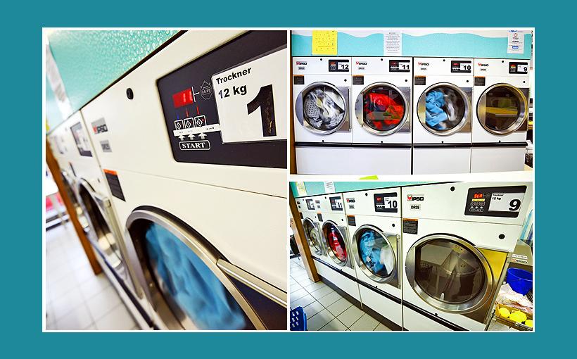 Wäsche waschen im SB-Waschsalon – günstig und schnell